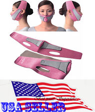 Anti Wrinkle Half Lift V Face Line Slim Slimming Up Cheek Mask Strap Belt Band
