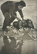 """Charming study """"The Lobster Pot"""" 1918 by Marietta Ralli"""