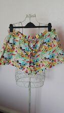Disney womens retro authentic vintage shorts from 70's plus size 18