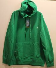 Polo Ralph Lauren Mens Green Performance Pullover Hoodie Sweatshirt NWT M