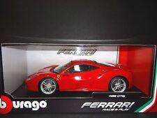 Bburago Ferrari 488 GTB 2016 Red 16008 1/18