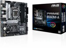 ASUS PRIME B560M-A Intel B560 LGA 1200 Micro ATX Motherboard, M.2, HDMI, USB 3.2
