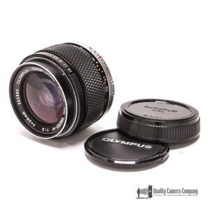 Olympus Zuiko MC Auto-W 28mm f/2 Wide Angle Lens with Caps