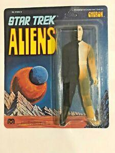 "1975 MEGO STAR TREK ALIEN CHERON 8"" ACTION FIGURE NEW ON UNPUNCHED CARD - READ!!"