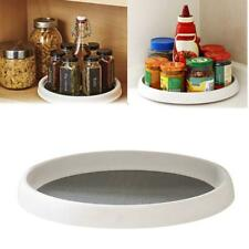 Storage Tray Turntable Lazy Susan Turntable Pantry Holder Can Kitchen Bathroom