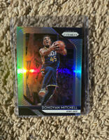 2018-19 Panini Prizm Silver #143 Donovan Mitchell HOT!🔥 Second Year Psa 10?