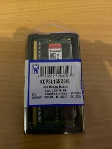 KINGSTON 8Go KCP3L16SD8/8 PC3L-12800 1600MHz