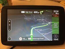 "TomTom Via 53 5"" Europe Lifetime Traffic Map Updates Hands Free Calling speed ca"