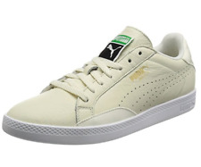 PUMA Match Lo Womens UK 5 EU 38 Marshmallow White Leather Sneakers Trainers