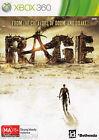 RAGE Xbox 360 Game - 3 Discs
