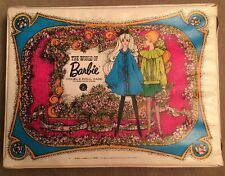 Vintage 1968 World of Barbie Double Doll Clothes Carry Case 13x8x4 Approximate