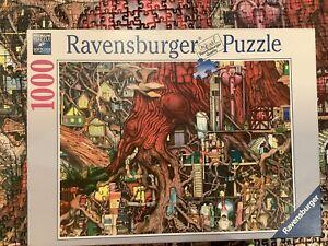 Jigsaw Puzzle 1000 Pieces Colin Thompson Hidden World