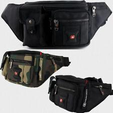 Men Women SwissGear Waterproof Waist Bag Chest Shoulder Bag Sports Hiking Bag