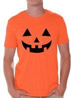 Men's Jack O' Halloween Pumpkin T shirts Shirts Tops  Pumpkin Tee