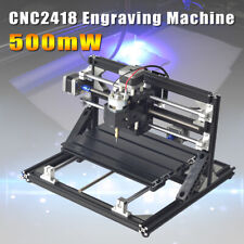 3 Axis CNC3018 / CNC2418 Engraving Machine 500/2500/5000mW Laser Head  z h
