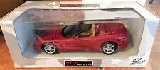 """1998 - Red Chevrolet Corvette Convertible - 1/18"""" Die Cast - UT Models - NEW -"""