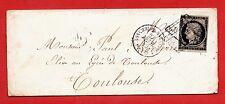 N°3 SUR ENVELOPPE-ASSEMBLÉE NATIONALE-TOULOUSE-27/02/1849-CÔTE 420 €-RARE
