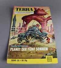 TERRA Utopische Romane  Band 20 - Planet der fünf Sonnen  - Frank William  /S154