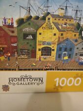 MasterPieces Jigsaw Puzzle - Crows Nest Harbor - Seaside Americana - COMPLETE