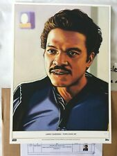 *RARE*#1/1 Topps Star Wars Living Set LE GOLD Penix Art Print, Lando Calrissian