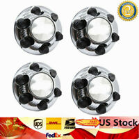 "4pcs CHROME for Express Van 17"" 6-Lug Wheel Skins hubcaps Rim Center Covers New"