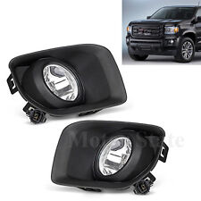 For 2015 2016 2017 GMC Canyon Driving Fog Lights Bumper Lamps NEW- FL7089