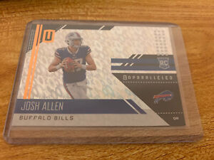 2018 Panini Unparalleled Josh Allen Flight SP Parallel Rookie Card