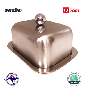 Isothermal Double Layered Stainless Steel Butter Dish - Perfect Butter Texture