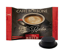 200 CAPSULE CAFFE' BORBONE MISCELA ROSSA DON CARLO A MODO MIO OR