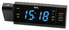 Radiowecker mit Projektion, USB Wiedergabe und Ladefunktion AEG MRC 4159 P