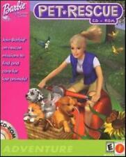 Barbie Pet Rescue PC CD help find lost animals puppy kitten cat dog rabbit game!
