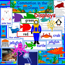 Commotion in the Ocean- teaching resource CD- Seaside, sea life, fish- EYFS/ KS1
