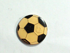 Soccer Ball  Pin Lapel Pin Badge