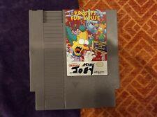 Krusty's Fun House (Nintendo Entertainment System, 1992) Just cart. Mark on face