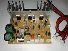 100 W Stereo 2.1 Audio Amplifier Board Kit with Bass, Treble, Volume + Connector