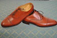 BARKER Duxford mens Rosewood Calf Cap Toe oxfords formal shoes size 12 G