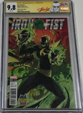 Marvel Iron Fist #1 Midtown Campbell JSC Variant Signed by Stan Lee CGC 9.8 SS