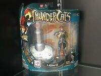 "Thundercats Lion-O 4"" Action Figure 2011 MOC Bandai TV Animated Cartoon Deluxe"