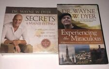 Dr. Wayne W.Dyer Experiencing the Miraculous 4 DVDs & Secrets Of Manifesting 6CD