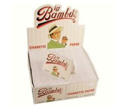 BIG BAMBU Cigarette Paper 50 Packs Original