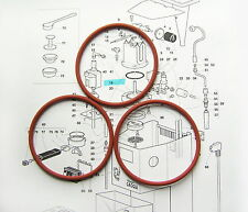 3 x Gaggia Classic, Baby, Evolution Boiler Gaskets, Seals, O Rings DM0041/082