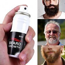 Beard Growth Spray Stimulator Grow 100% Natural Hair Grower Fast Beardboost Pro