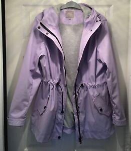BNWOTS Next Lilac Waterproof lined Rain Coat Size 12