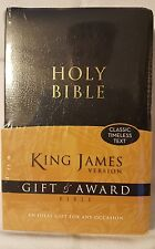 Holy Bible King James Version Gift & Award - Classic Timeless Text - New/Sealed