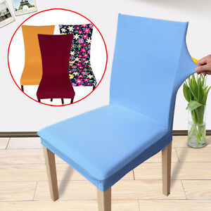 Soft Chair Covers Hotel Restaurant Working Wedding Party Decorations Slipcover