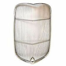 1932 FORD HOTROD GRILLE INSERT STAINLESS STEEL RATROD DEUCE COUPE DRAG GRILL