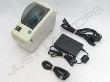 Zebra LP 2824 Plus Direct Thermique Imprimante Étiquette Encre PSU + Câble