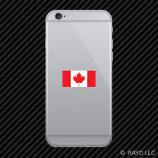 Canadian Flag Cell Phone Sticker Mobile canada