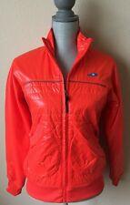 New Balance heritage NB women's orange winter ski jacket s NEW great gift nwot