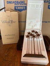 Demdaco Willow Tree Nativity Metal Star Backdrop 26007 with box